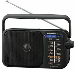 Panasonic RF-2400DEG Kofferradio UKW (Schwarz)