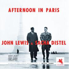 SAM | John Lewis & Sacha Distel - Afternoon In Paris 180g LP NEU