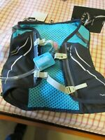 New Womens Osprey Dyna 1.5 Hydration Running Pack Size S-XS Black