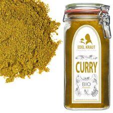 600g BIO Curry Jaipur im PREMIUM Glas | EDEL KRAUT Gewürze im Vorratsglas