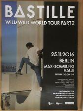 BASTILLE  2016  BERLIN  + orig.Concert Poster -- Konzert Plakat  A1 NEU