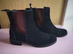 Timberland Chelsea Boots Stiefel Stiefeletten dunkelblau Größe 38