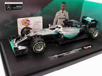 Bburago 18-18001H # Mercedes F1 W07 Hybrid No.44 Formel 1 2016 L.Hamilton 1:18