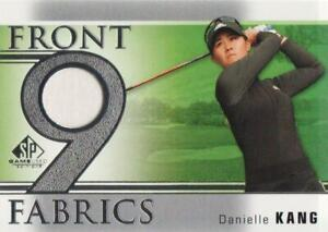 2021 SP Game Used PGA Golf Front 9 Fabrics JERSEY #F9-DK Danielle Kang