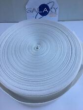 "Upholstery Poly Webbing 3-1/2"" Width X 110 Yard. Sw171White Upc901005"