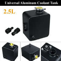 2.5L Universal Water Coolant Radiator Header Overflow Expansion Tank Aluminium