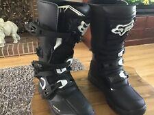 Fox Comp 3 Boots Y6 Black
