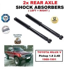 REAR LEFT and RIGHT SHOCK ABSORBERS for TOYOTA HILUX V Pickup 1.8 2.4D 1988-1991