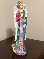 """Lenox ~ 1997 ~ THE ANGEL OF PEACE ~ The Angels of Life Collection ~ 11"""" Tall"""