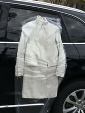 Helmut Lang chic Spring/Fall overcoat, size p, Cream color