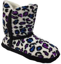 Women's Textile Animal Print Slippers