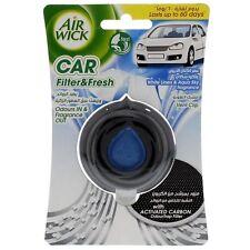 2x Pack Air Wick líquido coche furgoneta Clip de ventilación de aire ambientador de aire-Lino Blanco & AQUA