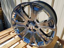 "GMC Denali 22"" Wheels 2016 Rims Silver CK190 Yukon Sierra Chevy Silverado Tahoe"