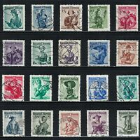 Austria - Selection of Austrian Costumes on Stamps  ...............R 1213