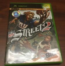 X - Box Game NFL Street 2 Live Online Enabled Complete 2004 Microsoft
