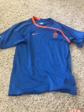 Netherlands Nike Blue Mens Training Top Size Small