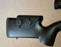 Adjustable Kydex Cheek Rest Riser Bell & Carlson Varmint Tactical Stock Right Hd