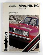 VIVA HB HC from 1966 OWNER'S HANDBOOK Handybook 22 KENNETH BALL (1976)
