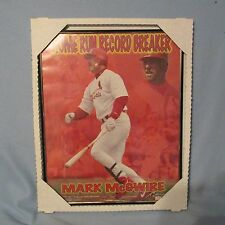 Mark McGuire St. Louis Cardinals MLB Baseball 1996 Reflective Plaque  HOF