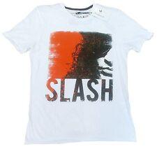 Rare AMPLIFIED IKONS Cool SLASH Guitar Rock Star ViP Face Design T-Shirt M 48