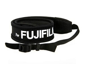 Camera Shoulder Strap for FUJIFILM Fuji anti-slip weight reducing neoprene - UK