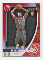 2019-20 Panini Absolute BRUNO FERNANDO Rookie RED FOIL /199 Hawks RC #34