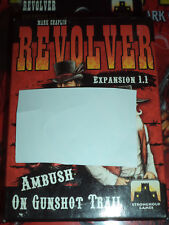 Revolver 1.1 Expansion Ambush on Gunshot Trail Stronghold Western Board Game New