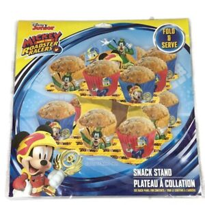 Mickey and The Roadster Racers Snacks Stand Fold and Serve New