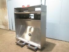 """H.D. Commercial S.S. Lighted 60½""""W Ceiling Mount Type 1 Restaurant Exhaust Hood"""