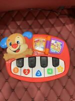 Fisher Price Laugh & Learn Puppy's Piano 2015 Music Lights Numbers ABCs Learning