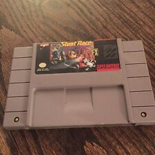 Stunt Race FX Super Nintendo SNES Game Cart Tested + Works SN1