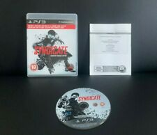 SYNDICATE - EXECUTIVE PACKAGE EDITION - SONY PLAYSTATION 3 PS3 GAME - VGC