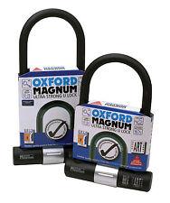 OXFORD Magnum U-Lock 170mm x 285mm Motorcycle U lock Motorbike U-lock OF172