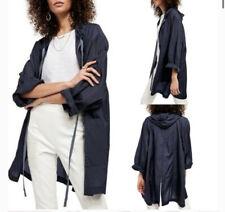 Women Free People Packable Raincoat Navy Ink MSRP $98