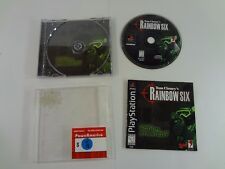 Tom Clancy's Rainbow Six Sony PlayStation 1 PS1 **COMPLETE** FREE SHIPPING