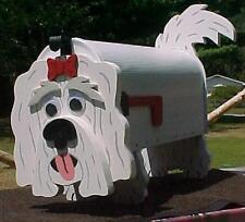 💗 Maltese Mailbox Custom Animal Mailboxes Postal Mail Box Dog Westie