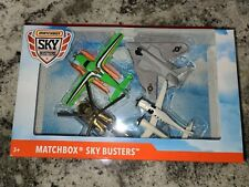 Matchbox Sky Busters 4 Pack Helicopter aviones juguete STUNT PLANE SB-73 (TA)