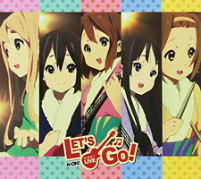 K-ON! Live Event - Let's Go! -! LIVE CD Limited Edition CD Japan Music Japanese