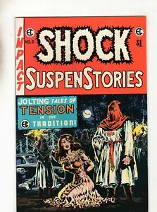 SHOCK SUSPENSE STORIES #6 BRONZE AGE EC COMICS HORROR 1974! GLOSSY