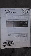 kenwood c-b9 service manual original repair book stereo pre amp tuner