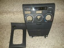 03-08 Toyota Corolla OEM Black Center Dash Radio Ac Control Trim Bezel oem