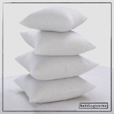 "17"" x 17"" Cushion pad Inners, Hollowfibre Scatter Cushions - Pack Of 2"