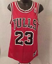 Vtg. Champion Men's Multi Color Chicago Bulls #23 Michael Jordan Jersey Size 36