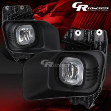CLEAR LENS BUMPER DRIVING FOG LIGHT LAMP+BEZEL LH+RH FOR 11-16 FORD F250-550 SD