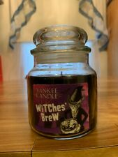 YANKEE CANDLE WITCHES' BREW 12.5oz. JAR BLACK SPICE VINTAGE BURN 60-75 HOURS NEW