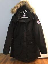 Canada Goose Style Women Black Down Jacket