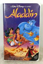Aladdin VHS Black Diamond Classic Walt Disney #1662 With Papers