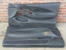 99 04 Ford Mustang GT LX Cobra LH RH Door Panels Trim Pair OE Black