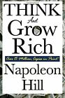 Think and Grow Rich - Napoleon Hill NEW BOOK
