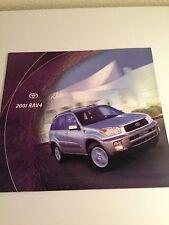 2001 Toyota Rav4 20-page Original Sales Brochure